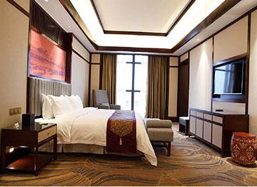 五星级宾馆套房定制 现代中式酒店风格 M-TFJ06