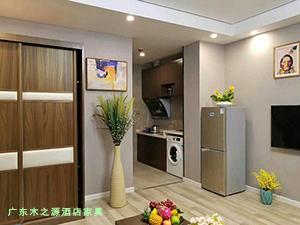 青海西宁新千金陵公寓卧室家具