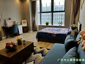 青海西宁新千金陵公寓客厅家具图