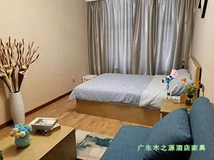 青海西宁新千金陵公寓客厅卧室家具图
