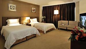 高端商务客房家具 M-TFJ07 乐从酒店家具定制
