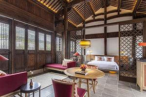 中式风格度假酒店家具