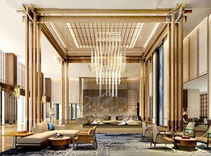新中式风格酒店家具/