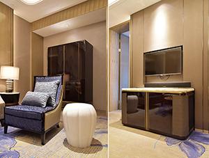 广西万达酒店固装家具图片 GZME03