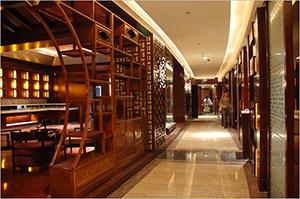 中式实木 酒店固装家具 GZME10