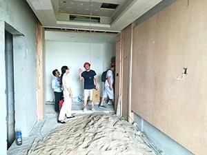 湖北新冶钢集团酒店二期工程现场2