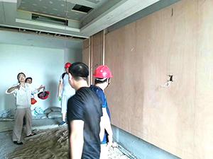 湖北新冶钢集团酒店二期工程现场4
