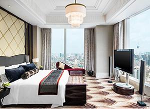 广东酒店客房卧室家具