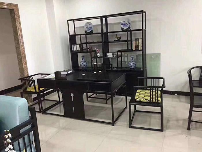中式酒店书房家具