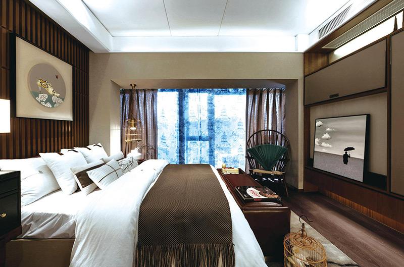 现代中式酒店家具