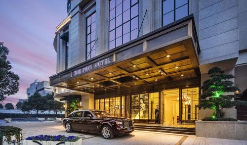 上海璞丽酒店家具配套案例