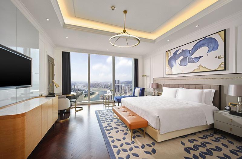 现代风格公寓酒店房间家具定制 KFMF-53